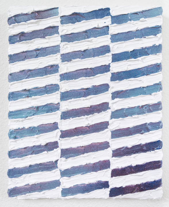 Bavarian Day Dreams, 2017, acrylic on canvas, 10 x 8 inches.