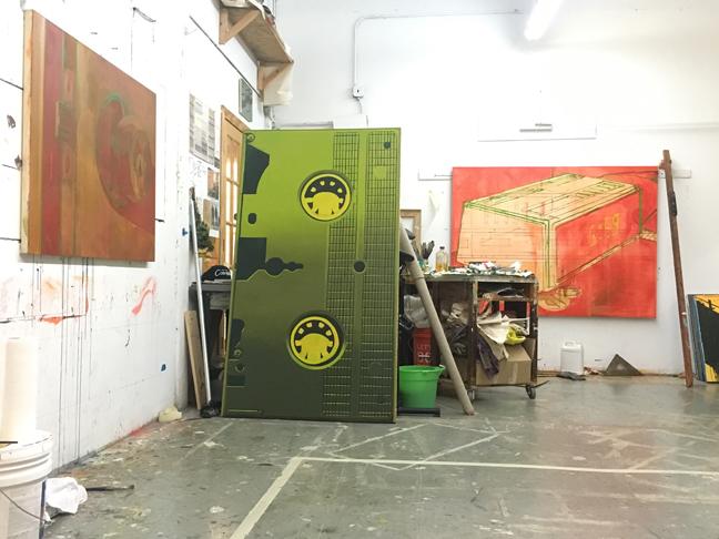 Studio, January 2017.