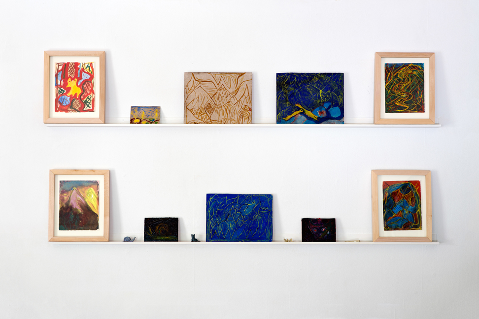 Peter Scherrer, installation view.