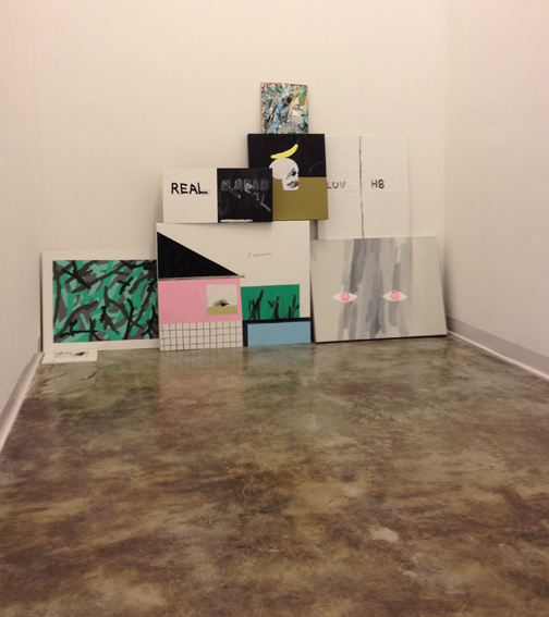 Installation view, PRETTY LITTER